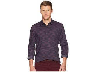 Perry Ellis Multicolor Pattern Shirt