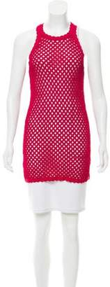 Proenza Schouler Open Knit Sleeveless Top