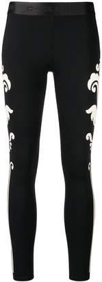 Pinko C-Clique printed leggings