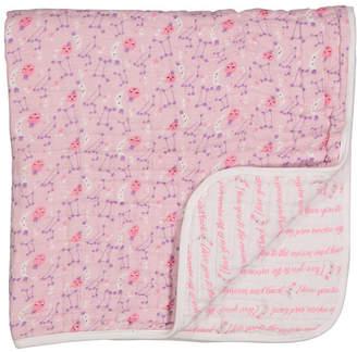 Lulu Jesse Infant 4 Layer Muslin Blanket, Galaxy