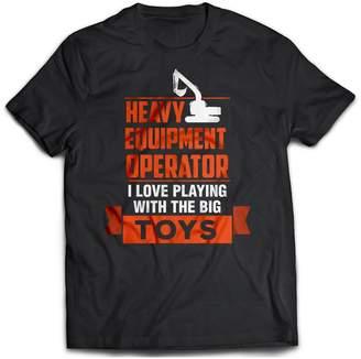 Equipment District Shirts Heavy Operator Unisex T-Shirt, (XL)