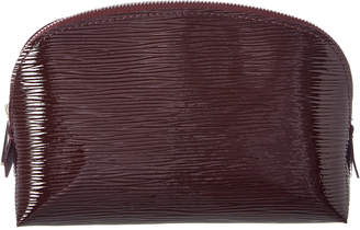 Louis Vuitton Brown Electric Epi Leather Cosmetic Case