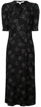 Veronica Beard floral silk dress