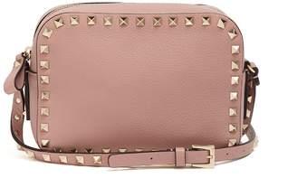 Valentino Rockstud camera leather cross-body bag