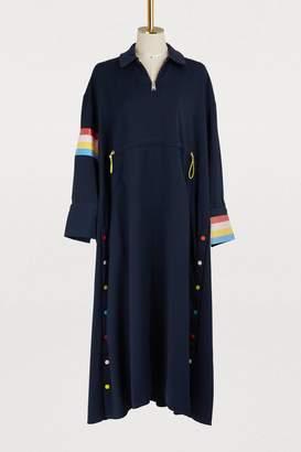 Mira Mikati Zippered maxi dress