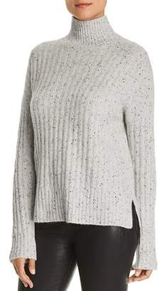 Bloomingdale's C by Donegal Cashmere Rib-Knit Turtleneck Sweater - 100% Exclusive