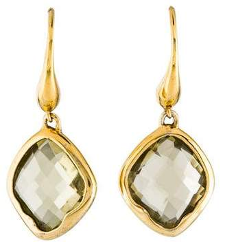 Monica Vinader Quartz Drop Earrings