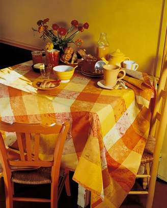 Garnier Thiebaut Garnier-Thiebaut Mille Couleurs 100% two-ply twisted cotton Tablecloth