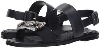 Tory Burch Delaney Embellished Flat Sandal Women's Shoes