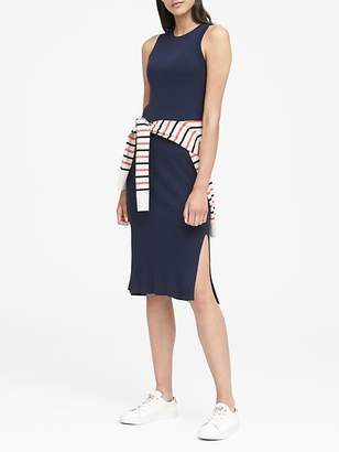 Banana Republic Rib-Knit Sheath Dress