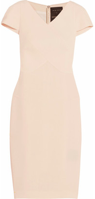 Roland Mouret - Tourney Wool-crepe Dress - Beige $2,295 thestylecure.com