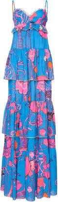 Dundas Ruffled Maxi Dress