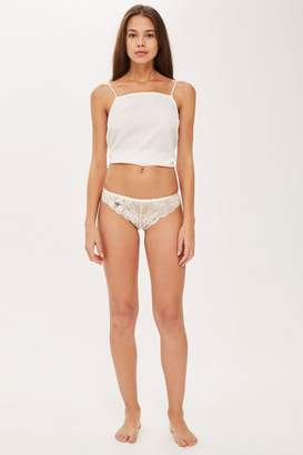 Topshop Lace Bee Thong