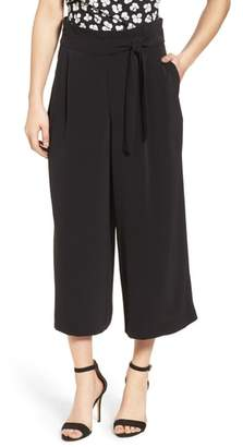 Anne Klein Belted Cropped Trousers