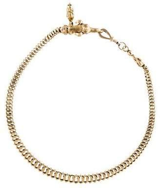 14K Victorian Greyhound Watch Chain
