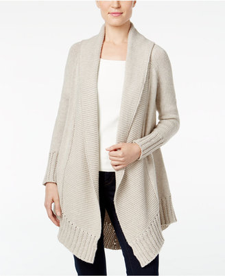 Style & Co. Shawl-Collar Open-Front Cardigan, Only at Macy's $69.50 thestylecure.com