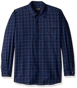 Pendleton Men's Long Sleeve Button Front Classic-fit Zephyr Shirt