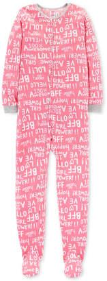 Carter's Little & Big Girls Fleeced Footed Pajamas