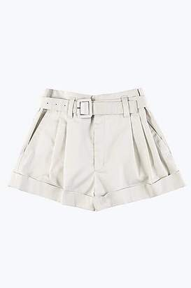 CONTEMPORARY Belted High Waisted Shorts