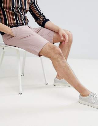 ONLY & SONS Chino Shorts In Pink