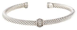David Yurman Diamond Cuff Bracelet