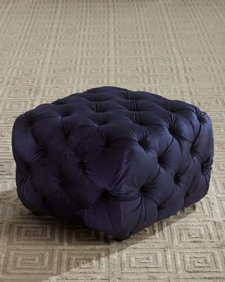 Beeks Tufted Cube Ottoman
