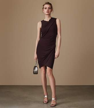 Reiss Leane Sleeveless Jersey Dress