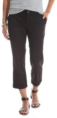 Lee Riders Women's Utility Knit Waist Cropped Cargo Pant