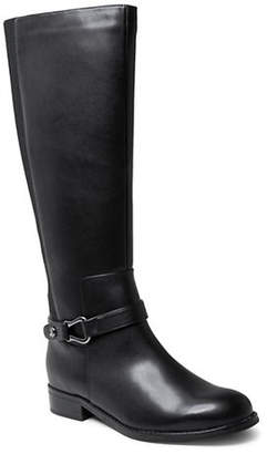Blondo Studio B Zehra Leather Waterproof Riding Boots