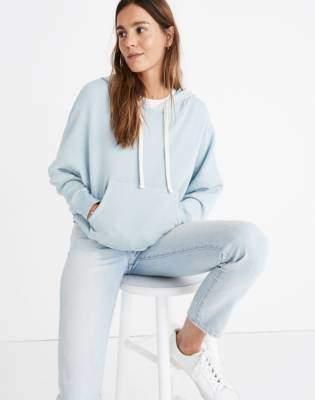 Madewell Rivet & Thread Drop-Shoulder Hoodie Sweatshirt