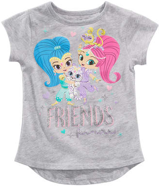 Nickelodeon Little Girls Shimmer & Shine Graphic-Print T-Shirt