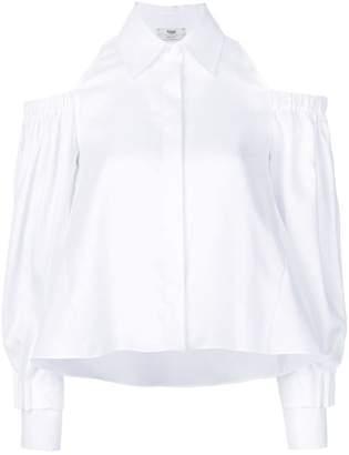 8f06fe10a5409b White Cold Shoulder Tops - ShopStyle UK