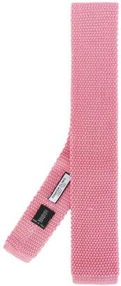 Fashion Clinic Timeless knitted square-tip tie