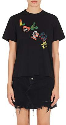 "Amiri Women's ""Love Me"" Cotton T-Shirt"