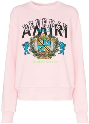Amiri beverly hills cotton sweatshirt