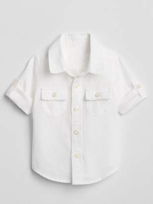 Gap Convertible Shirt in Linen