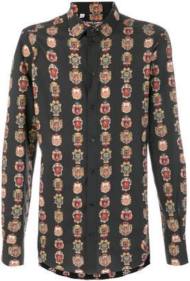 Dolce & Gabbana crest print shirt