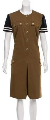 Etro Midi Military Dress