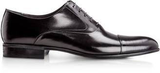 Moreschi Dublin Black Calfskin Oxford Shoes