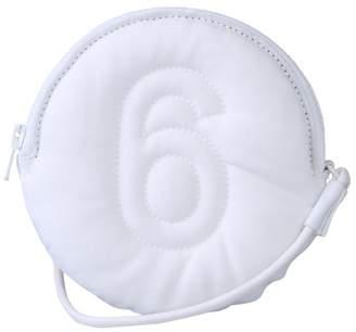 MM6 MAISON MARGIELA Logo Embroidered Clutch Bag