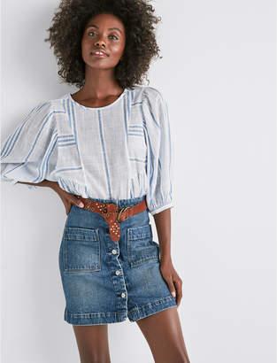 Lucky Brand Denim A Line Skirt
