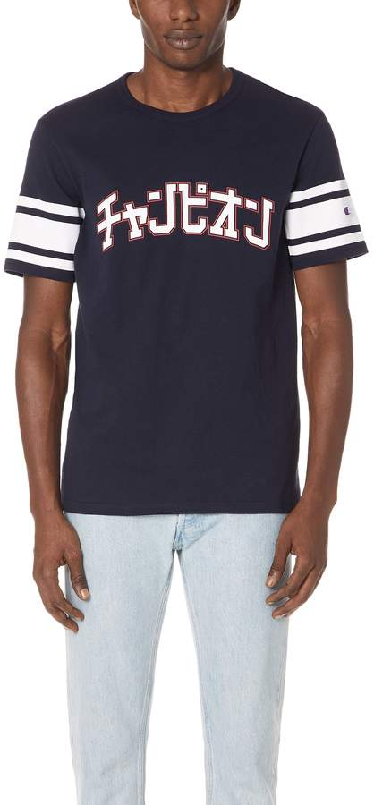 Champion Premium Reverse Weave x Beams Crew Neck T-Shirt