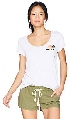 Rip Curl Junior's Sunshine Cove Pocket Tee