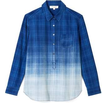 Vince Camuto Ombre Plaid Shirt