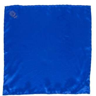 Bijan Satin Silk Pocket Square