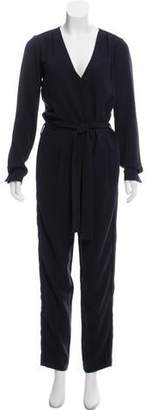 See by Chloe Long Sleeve High-Rise Jumpsuit