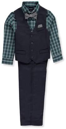 Nautica Little Boys' 4-Piece Vest Set