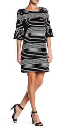Max Studio Short Bell Sleeve Dress