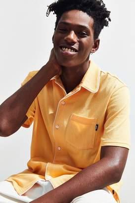 Stussy Sid Mesh Short Sleeve Button-Down Shirt