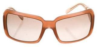 Bvlgari Logo Gradient Sunglasses